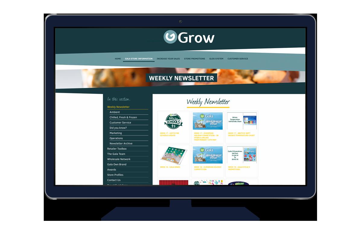 Gala - Desktop Example