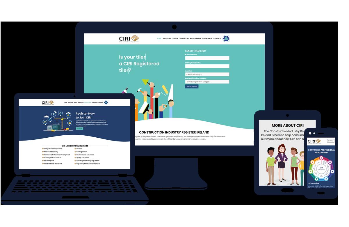 CIRI.ie - Resposnive Examples