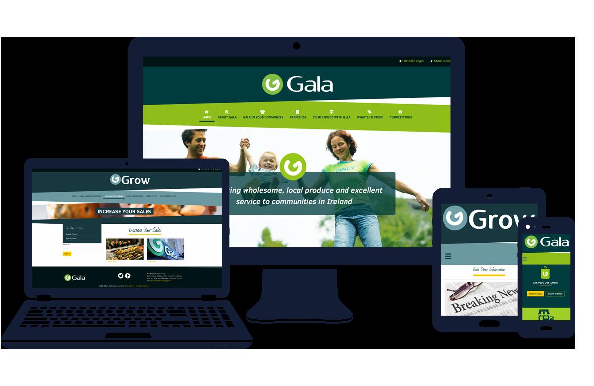 Gala - Resposnive Examples